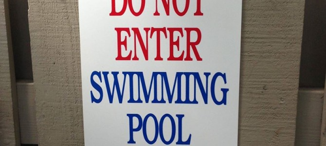 Pool closed July 15